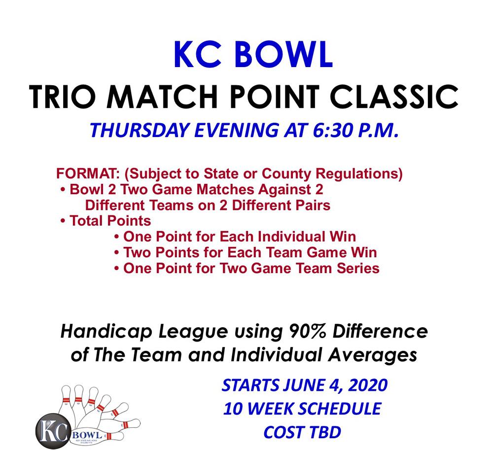 mixed trio league