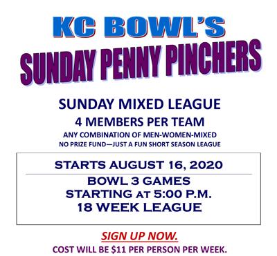 sunday penny pinchers