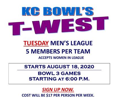T West mens league