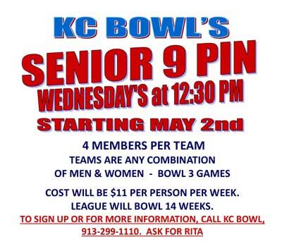 senior 9 pin