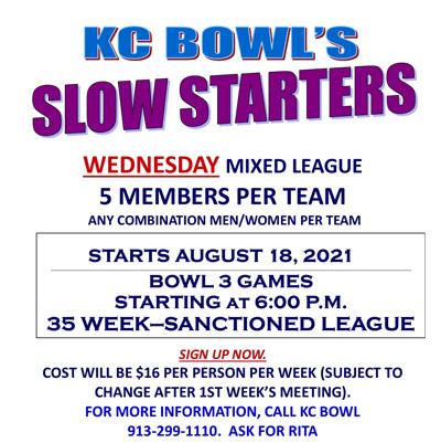 slow starters